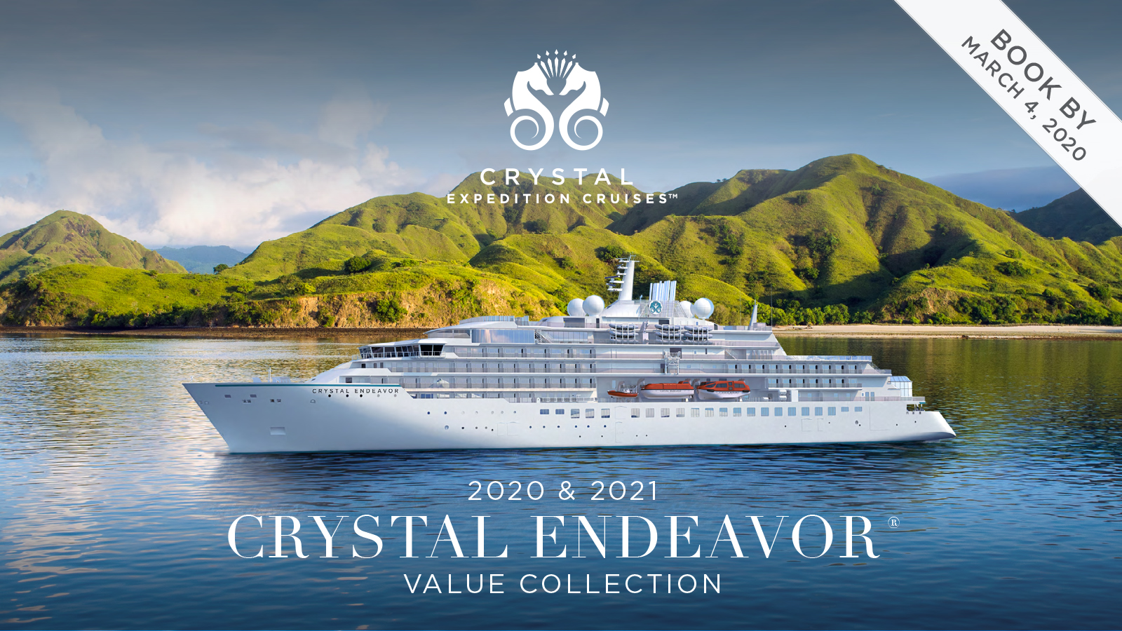 2020 & 2021 CRYSTAL ENDEAVOR® VALUE COLLECTION Book By March 4th 2020