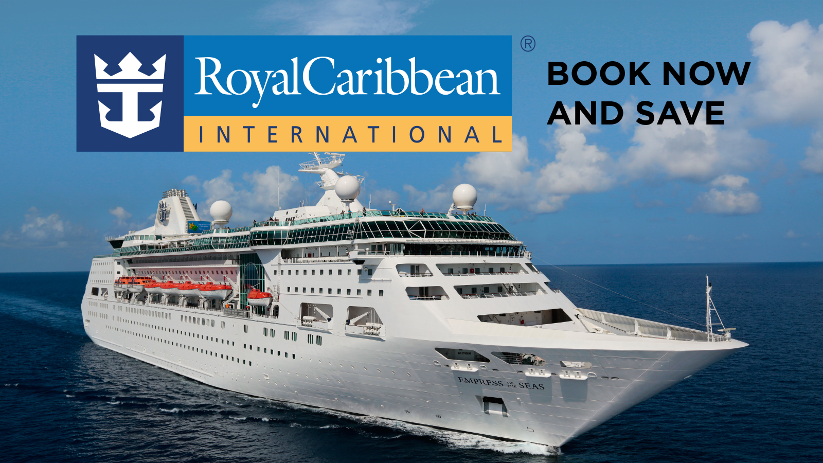 ROYAL CARIBBEAN VOYAGES FROM $299 Book Now and Save