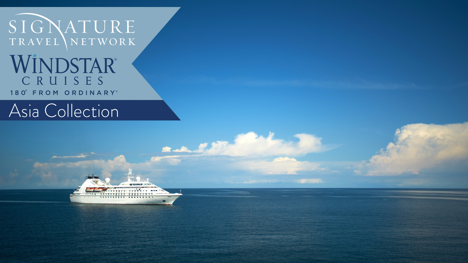 Windstar & Signature Travel Network Asia Collection